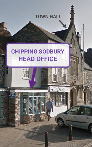 Our Chipping Sodbury Solicitors Head Office near Yate, Bristol